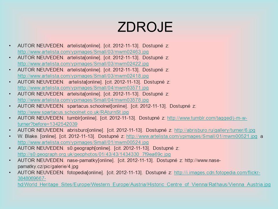ZDROJE AUTOR NEUVEDEN. artelista[online]. [cit. 2012-11-13]. Dostupné z: http://www.artelista.com/ypimages/Small/03/mwm02463.jpg.